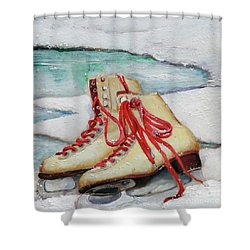 Skating Dreams Shower Curtain