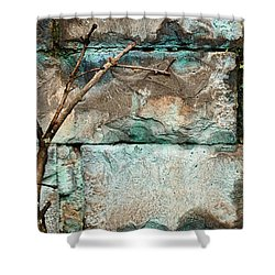 Skc 2510 Worn Out  Shower Curtain