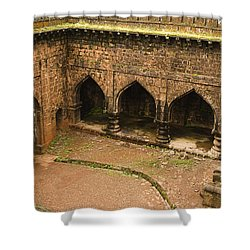 Skc 3278 The Ancient Courtyard Shower Curtain by Sunil Kapadia
