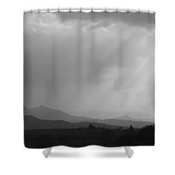 Skc 4928 Blessings Are Showering Shower Curtain by Sunil Kapadia