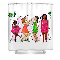 Skee Wee My Soror Shower Curtain
