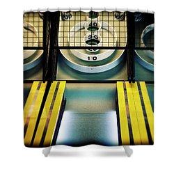 Skeeball Arcade Photography Shower Curtain