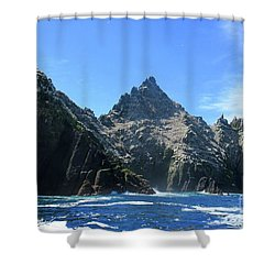 Skellig Islands 2 Shower Curtain