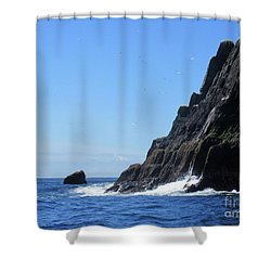 Skellig Islands 4 Shower Curtain