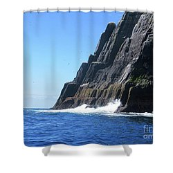 Skellig Islands 5 Shower Curtain