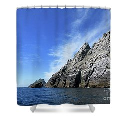 Skellig Islands 7 Shower Curtain