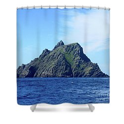 Skellig Islands 8 Shower Curtain