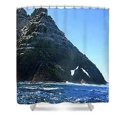 Skellig Islands Shower Curtain