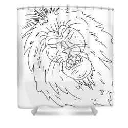 Sketch A15 Shower Curtain