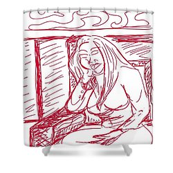 Sketch A2 Shower Curtain