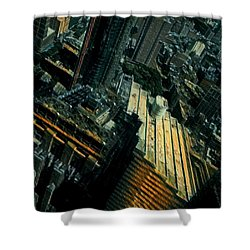Skewed View Shower Curtain