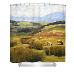 Skiddaw Massif  Shower Curtain