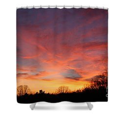 Skies Has No Limits Shower Curtain