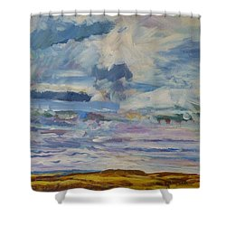 Plain Glories Shower Curtain