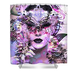 Skin Deep Shower Curtain by Kathy Kelly