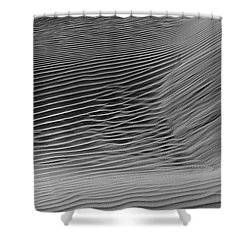 Skn 1132 Wind's Creation Shower Curtain by Sunil Kapadia