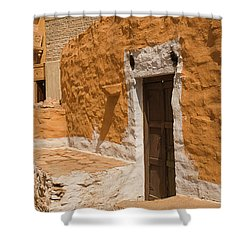 Skn 1264 The Thatched House Shower Curtain by Sunil Kapadia