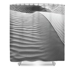Skn 1414 The Rhythmic Demarcations Shower Curtain by Sunil Kapadia