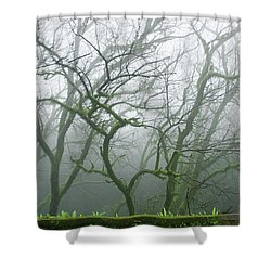 Skn 3720 Monsoon Landscape Shower Curtain
