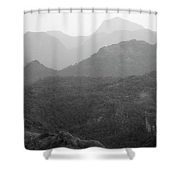 Skn 4443 Rolling Landscape Shower Curtain