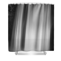 Skogarfoss Iceland Shower Curtain