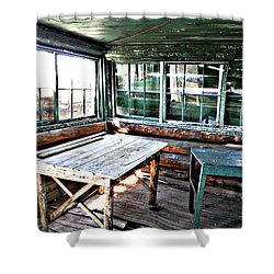 Skookum Butte Lookout Cabin  Shower Curtain