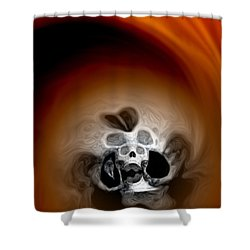 Skull Scope 3 Shower Curtain