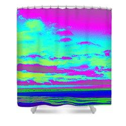 Sky #2 Shower Curtain