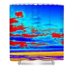 Sky #3 Shower Curtain