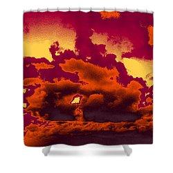 Sky #4 Shower Curtain