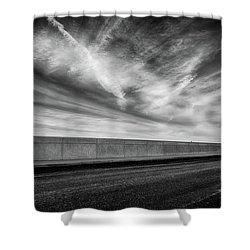 Sky Above Shower Curtain