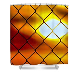 Sky Aglow Shower Curtain