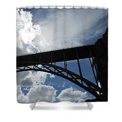 Sky Bridge Shower Curtain