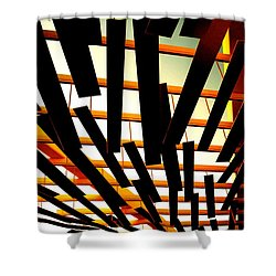 Sky Chasm Shower Curtain