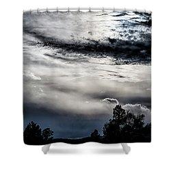 Sky Drama Shower Curtain
