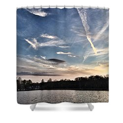Sky Drama Shower Curtain