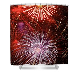 Sky Explosion Shower Curtain by Phill Doherty