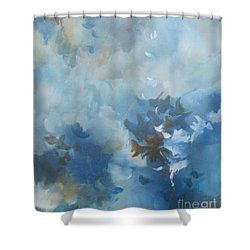 Sky Fall I Shower Curtain