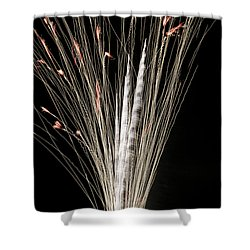 Sky Flowers Shower Curtain by Phill Doherty