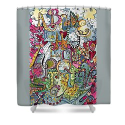 Sky Garden Shower Curtain