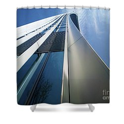 Shower Curtain featuring the photograph Sky Garden - London by Hanza Turgul