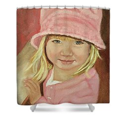 Sky In Pink Shower Curtain