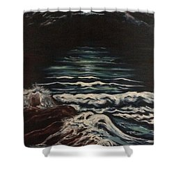 Sky Lights Shower Curtain by Cheryl Pettigrew