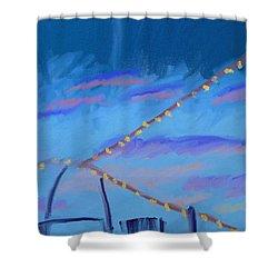 Sky Lights Shower Curtain