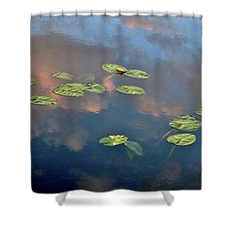 Sky Meets Water Shower Curtain