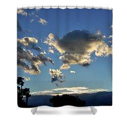 Sky Over Sky Valley Shower Curtain