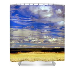 Sky Panoramic  Shower Curtain