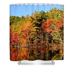 Sky Pond Shower Curtain
