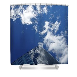 Sky Pyramid Shower Curtain