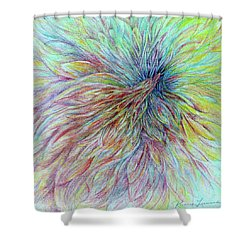 Sky Spirit Shower Curtain